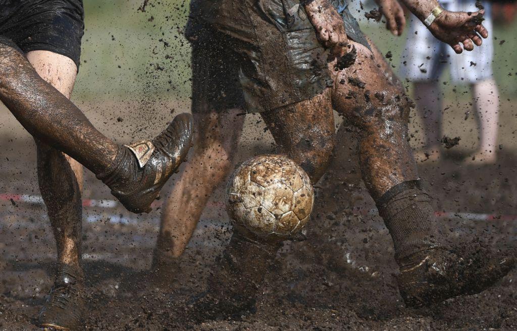 futbal, blato,