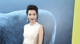Herečka Li Bingbing prišla tiež na premiére filmu The Meg.