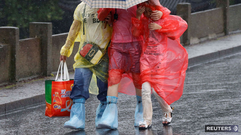 tajfún, vietor, dážď, ázia