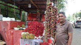 rambutan mangostin Srí Lanka
