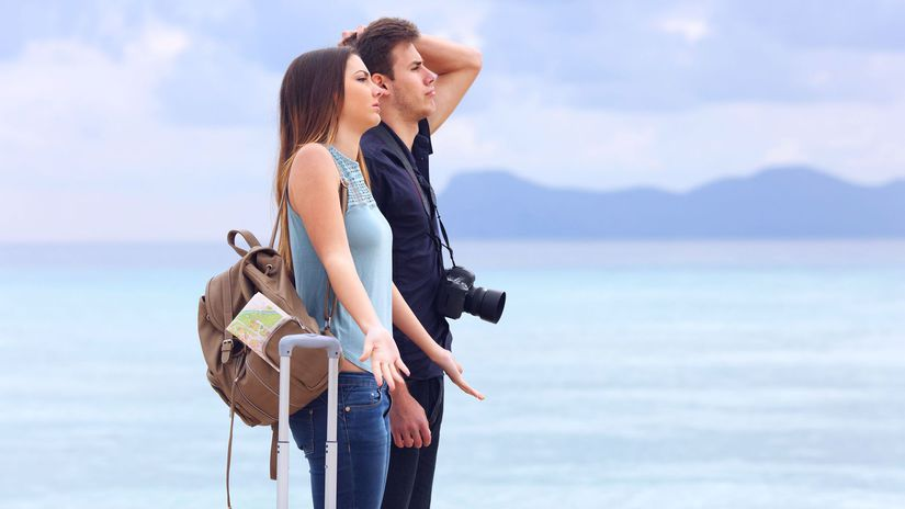 dovolenka, cestovanie, more, turisti,...