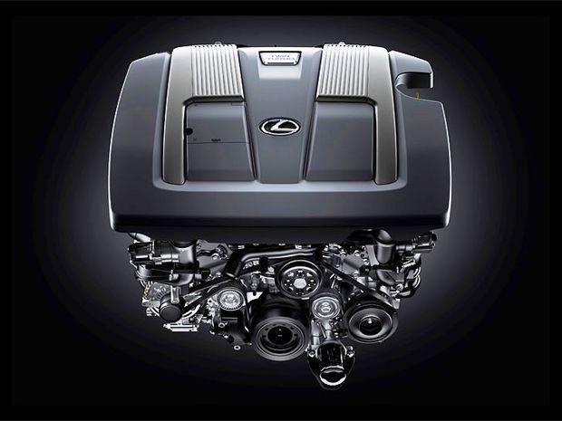 Lexus - motor 3,5 V6 bi-turbo