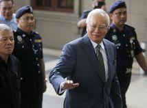 Malajzijský expremiér Najib Razak, korupcia