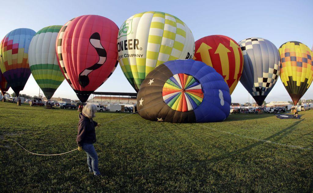 balóny, teplovzušné, lietanie