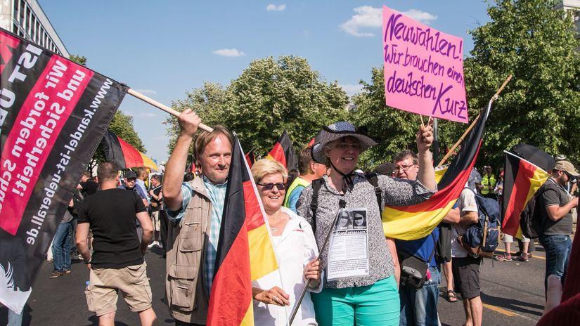 Nemecko, protest