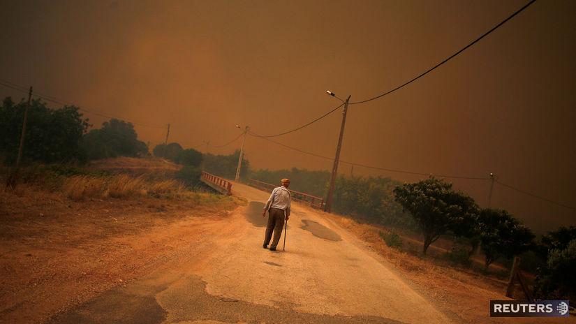 Požiare Portugalsko