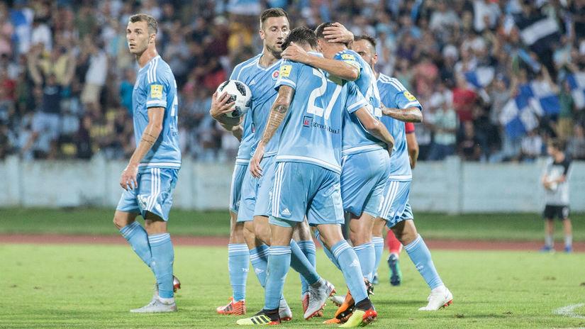 Slovan, gól, radosť