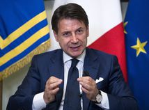 Taliansko Irán sankcie Conte TK