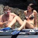 Herec Leonardo Dicaprio a jeho priateľka - argentínska topmodelka Camila Morrone na dovolenke v Taliansku.