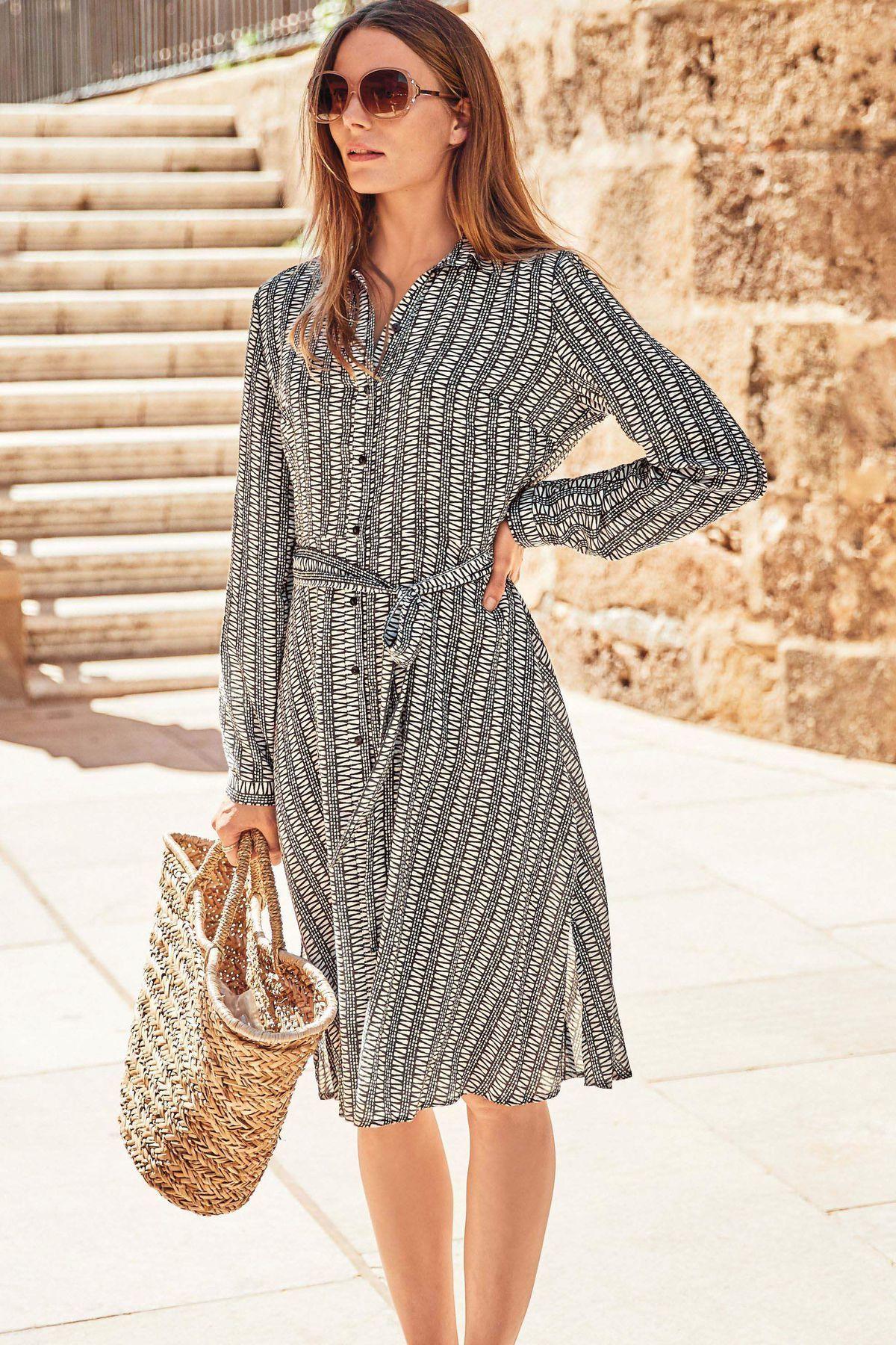 bab7264a1d71 Košeľové šaty - hit bez ohľadu na sezónu! 7 modelov na nosenie v ...