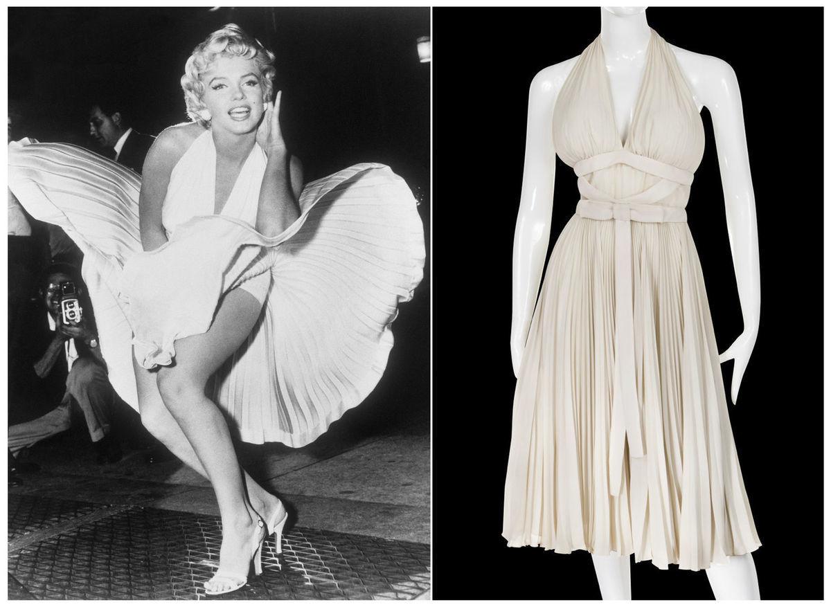 81d4d4230d29 Šaty či osobné listy Marilyn Monroe v dražbe! Koľko za ne utŕžia ...