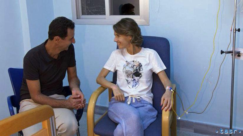 Sýria, Asma Asadová, rakovina, liečba