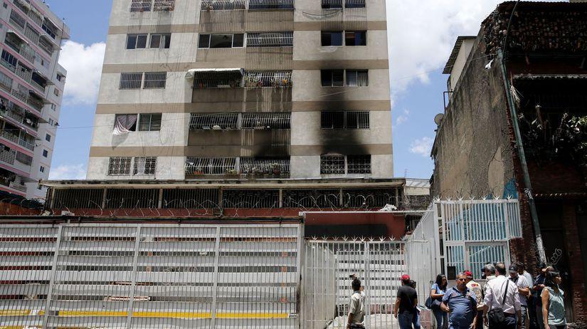 Venezuela Maduro atentát pokus zatknutia