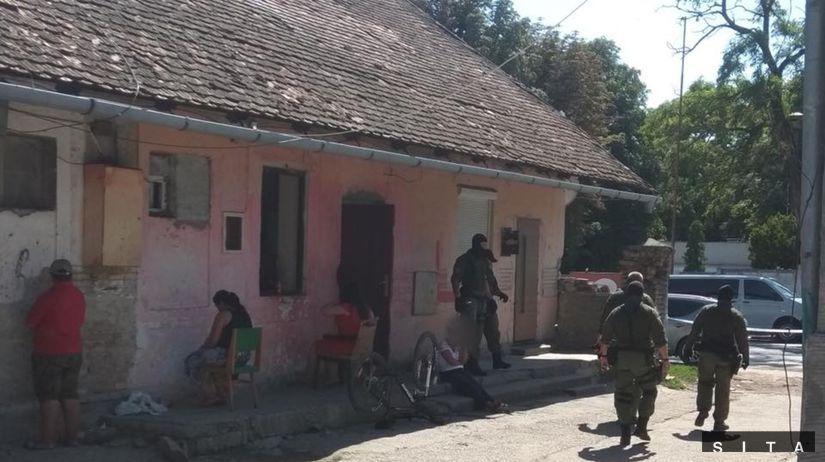 Drogová kriminalita v Seredi
