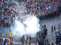 rumunsko, protest, demonštrácia, bukurešť