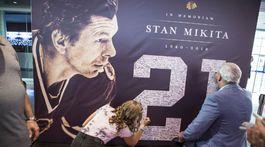 Stan Mikita, rozlúčka