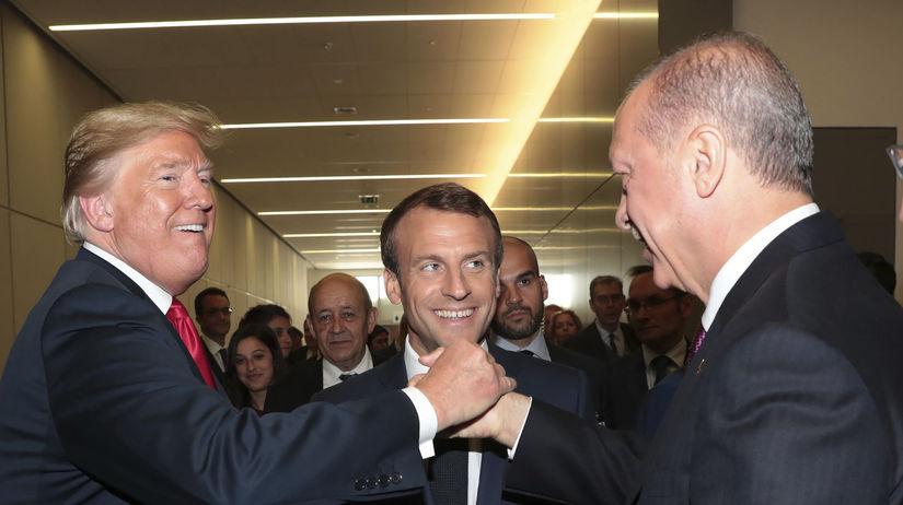 Trump, Macron, Erdogan