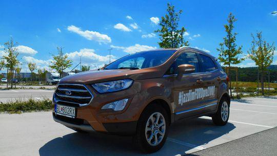 Test: Ford EcoSport 1,0 EcoBoost – dobrý kompromis