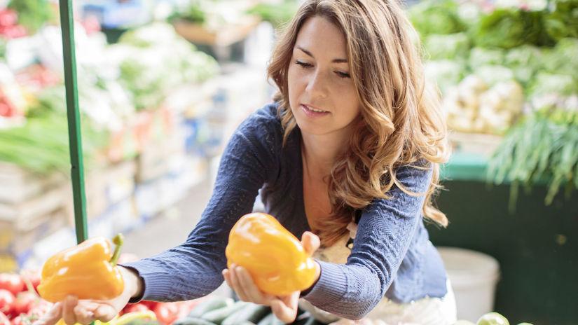 potraviny, nákup, zelenina