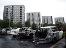 auto, Göteborg, švédsko, zhorený, vrak