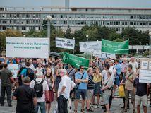 protest, SAV, Úrad vlády SR