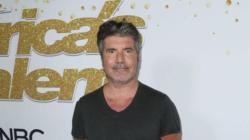 Simon Cowell na finálovom večere America's Got...