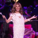 Speváčka Aretha Franklin na zábere z augusta 2017.