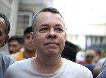 Turecko USA pastor súd väzenie domáce