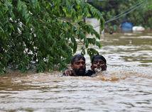 india, záplavy