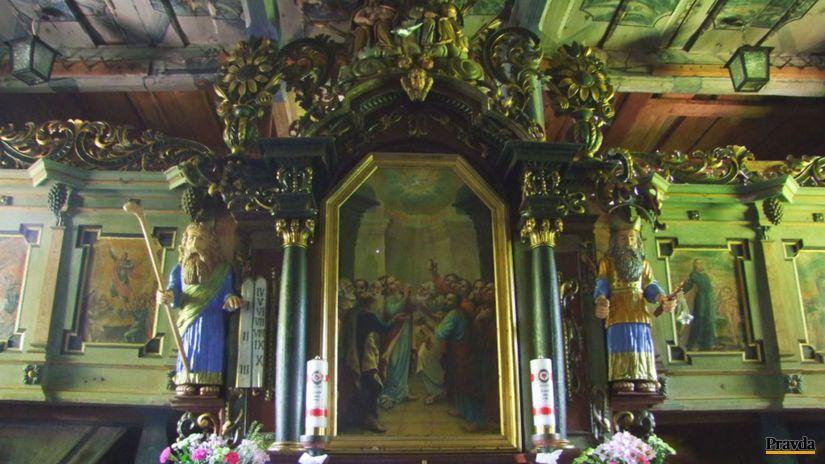 kostolík, Leštiny