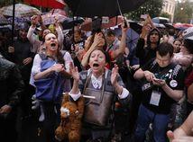 rusko, moskva, protest, demonštrácia