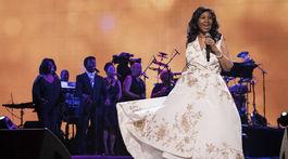 Speváčka Aretha Franklin