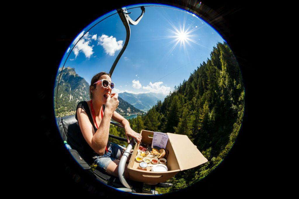 Švajčiarsko, brunch, branč, jedenie, hory,