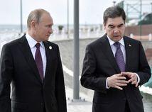 Vladimir Putin, Gurbanguly Berdimuhamedow,
