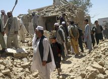 Afganistan Ghazní bombardovanie