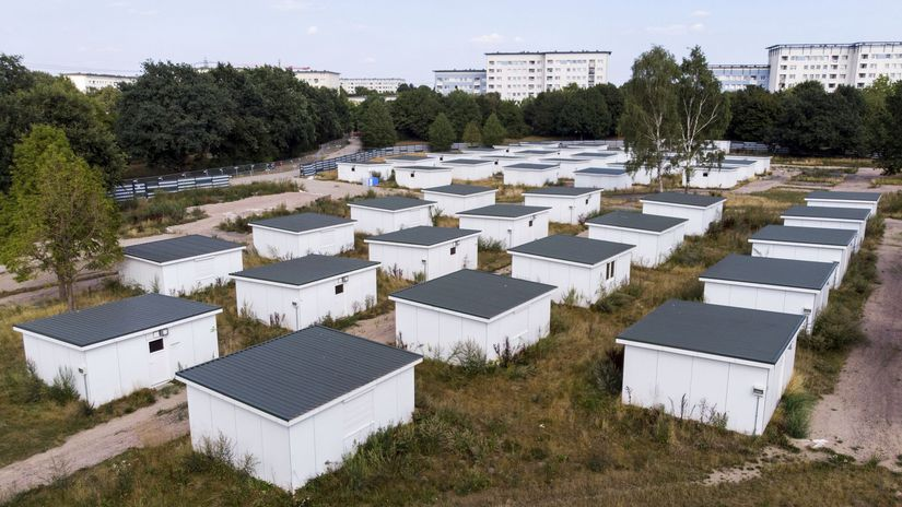 Nemecko Hamburg utečenci domčeky predaj