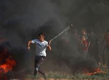 izrael, palestína. protest, demonštrácia, pásmo gazy