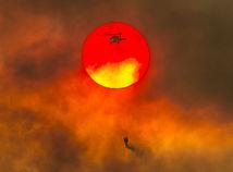 USA Kalifornia Požiare APTOPIX California Wildfires