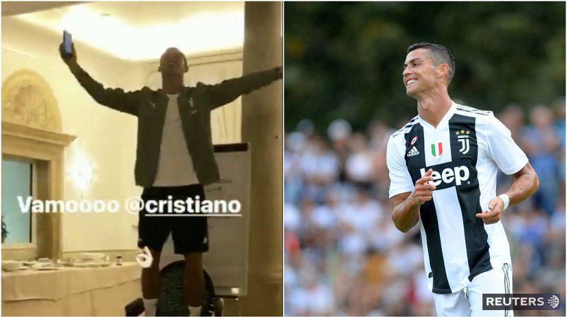 Cristiano Ronaldo, spev