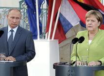 Angela Merkelová, Vladimir Putin