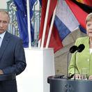 Nord Stream 2, Ukrajina či Sýria. Merkelová sa mala s Putinom o čom baviť