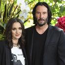 Winona Ryder a Keanu Reeves spoločne na predstavení filmu Cesta za láskou.