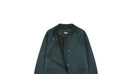 Predĺžený bomberový kabát Karl lagerfeld, info o cene v predaji.