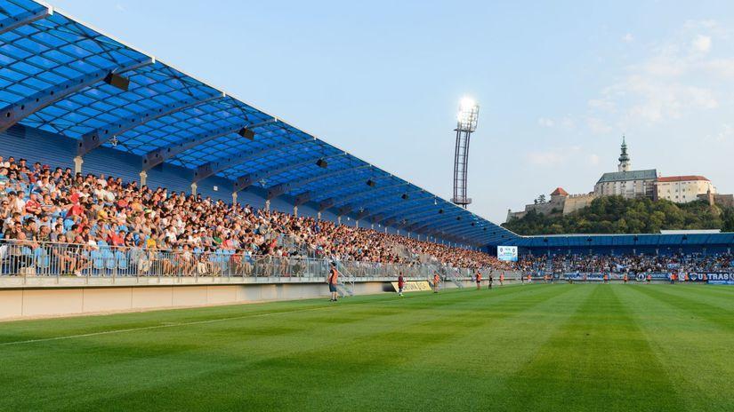 SR Nitra FL futbal štadión rekonštrukcia NRX