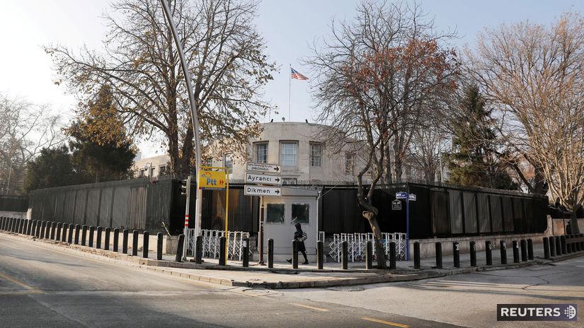 turecko, ankara, ambasáda usa