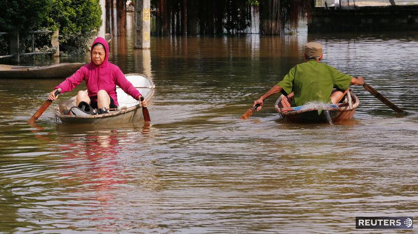 vietnam, tajfún, záplava