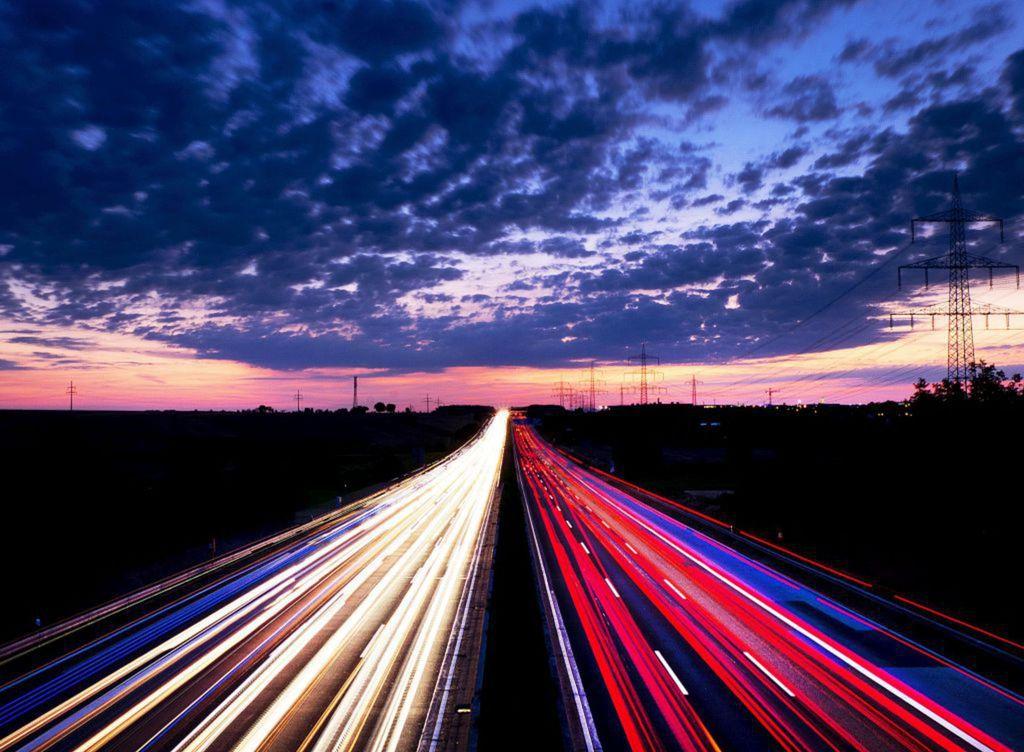 cesta, diaľnica, doprava, autá