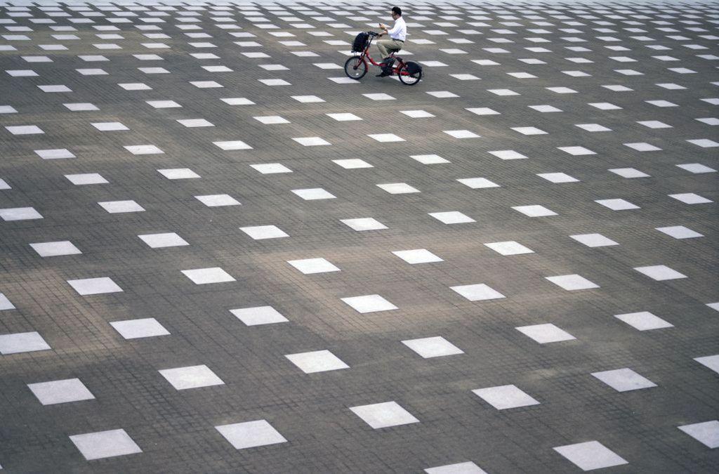 Japonsko, cyklista, elektrobicykel