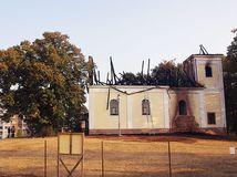 HaZZ požiar kaplnka sv.Helena P.Bystrica
