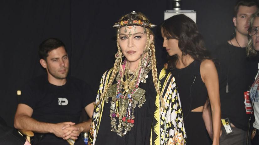 Na ceremoniál prišla aj speváčka Madonna, ktorá...